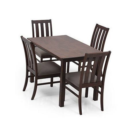 DELUCA MINI 4 SEATER DINING TABLE SET